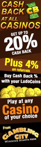 Cash Back at all Casinos